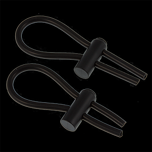 4mm Conductive Rubber Cock Loops