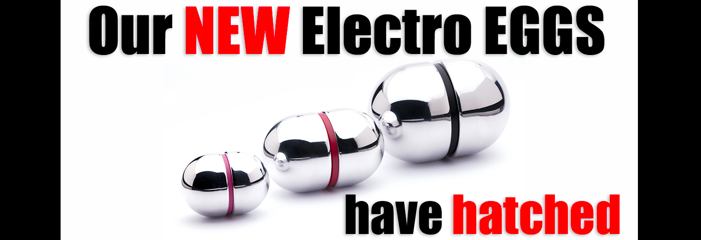 New E-Stim Electro Eggs