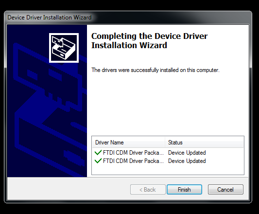 Drivers Installed