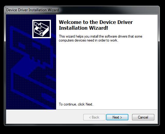Install Wizard
