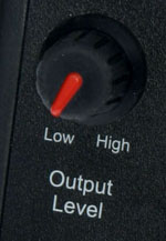 Series 1 Output Level Control